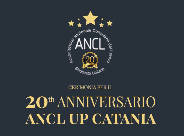 Anniversario ANCL UP Catania